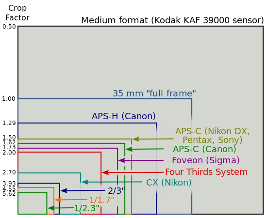 Full frame & APS-C sensors why and why not.
